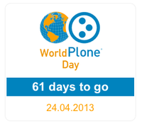 wpd.countdown portlet - Counting days to World Plone Day