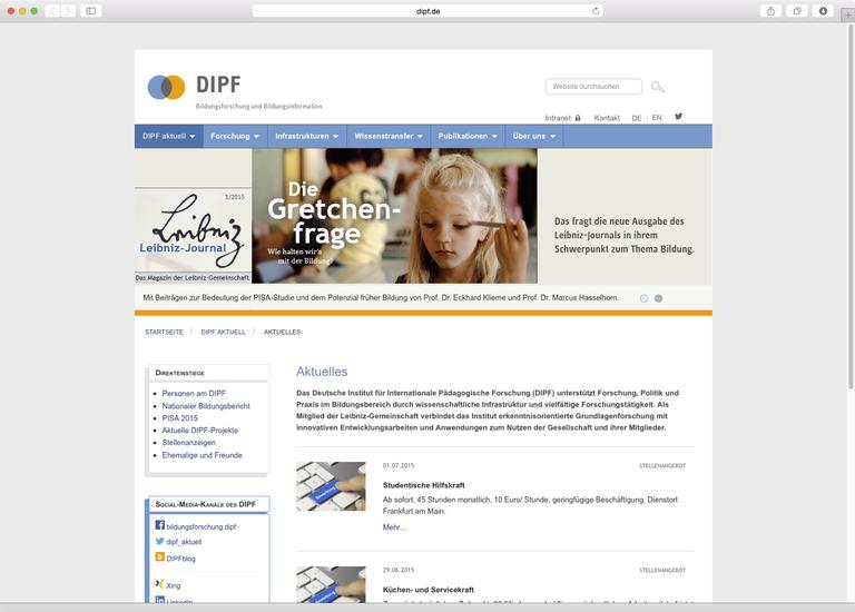 www.dipf.de